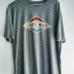 BLUE84 Super-soft Over-sized Cape May Graphic Tee